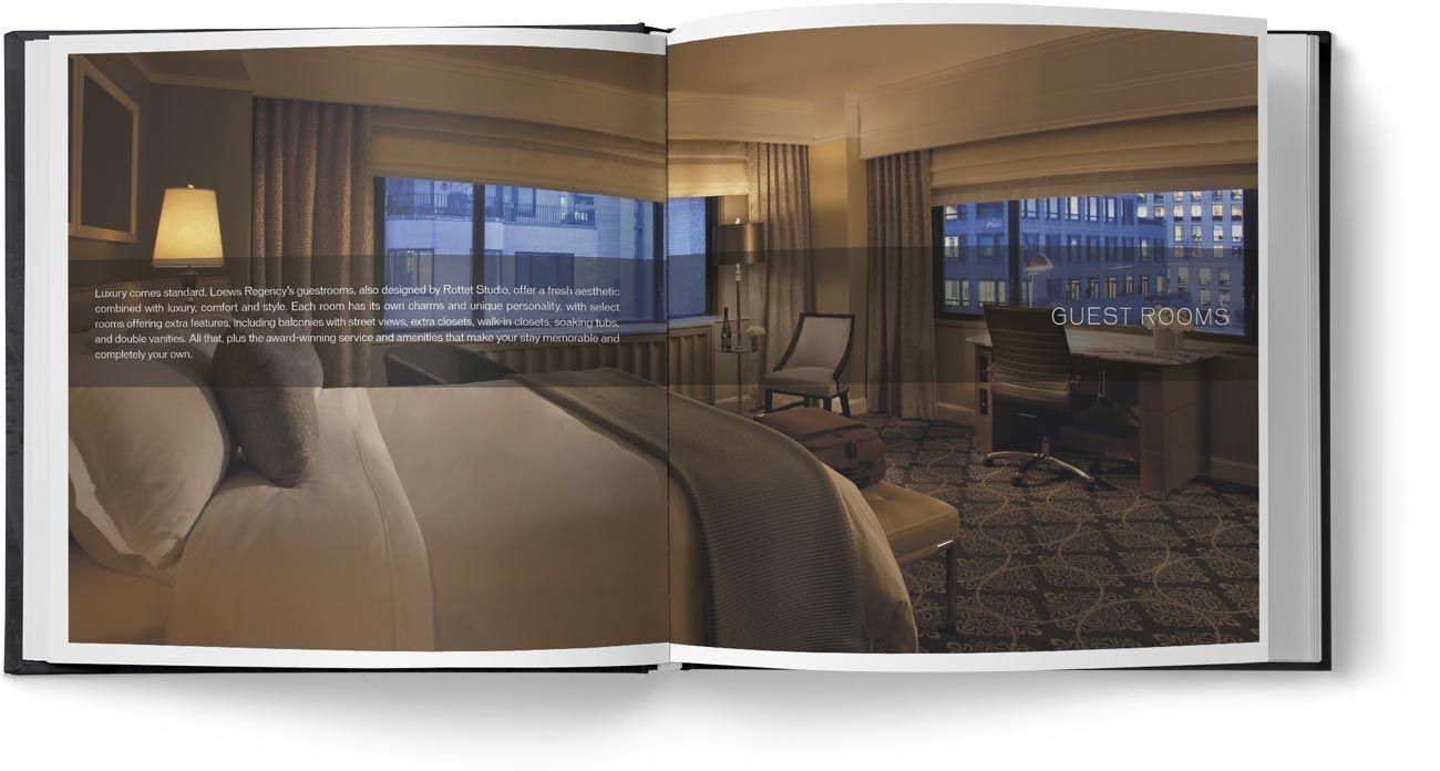Diseño Libro Hotel de Lujo