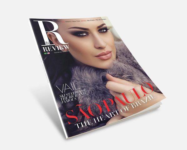 Diseño Editorial Revista Miami Portada Dirección de Arte y Maquetacion