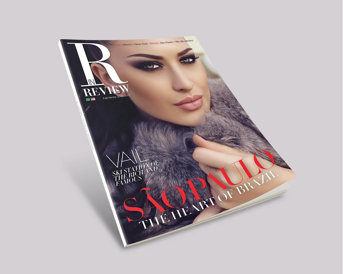 cover lifestyle magazine design