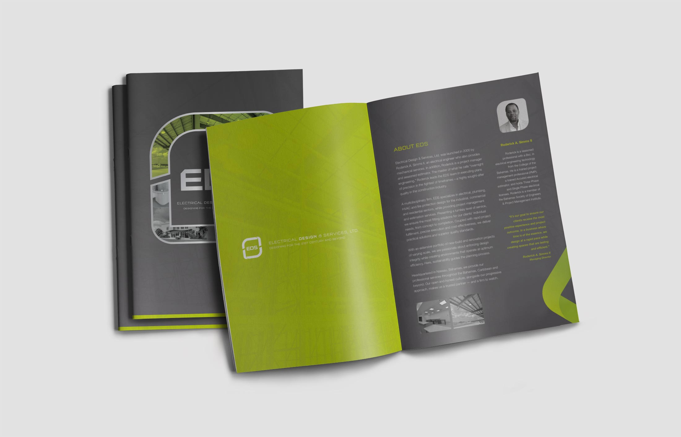 eds brochure dossier design