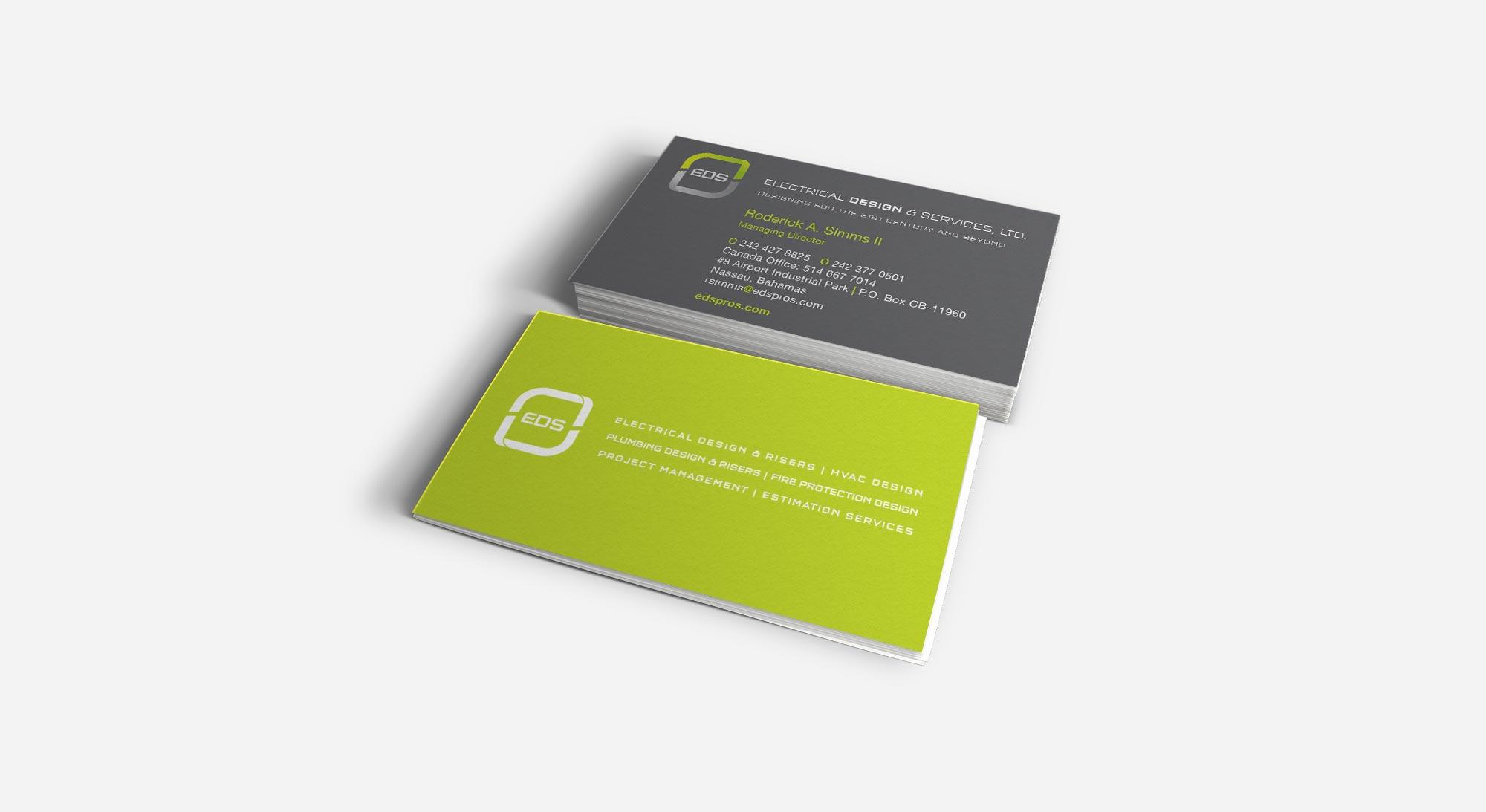 eds business cards