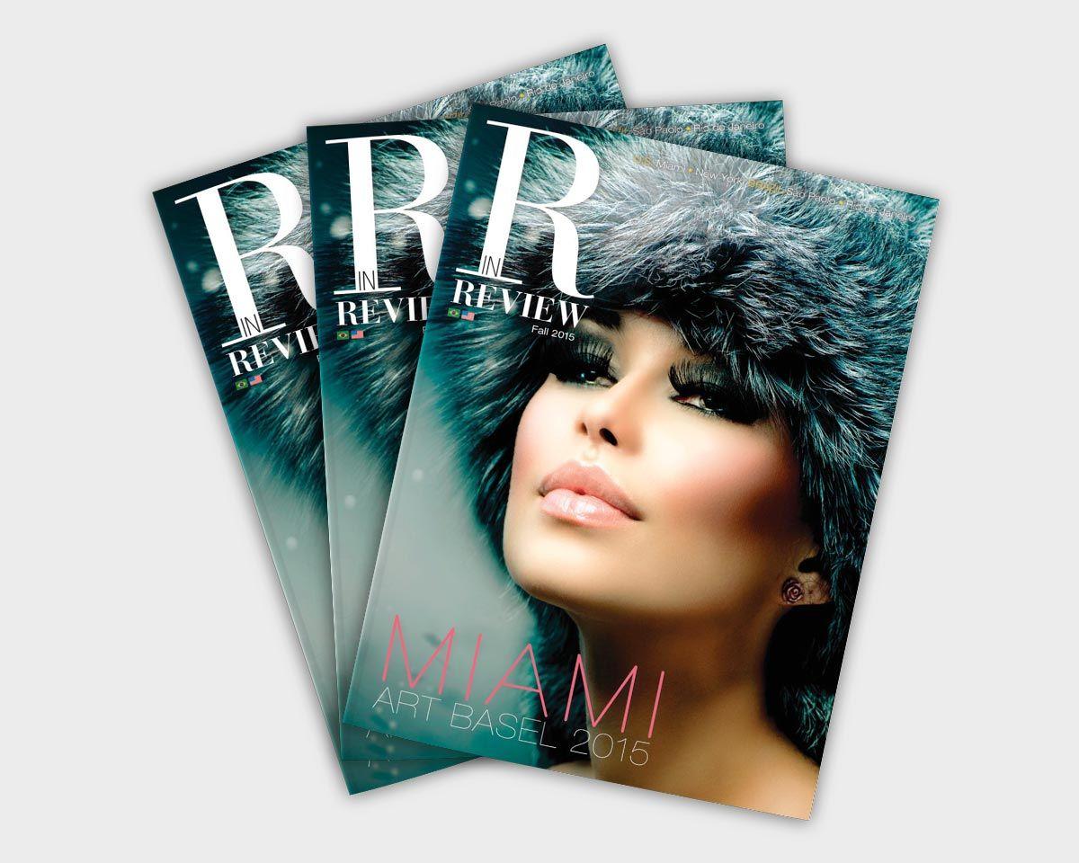 magazine editorial design layout