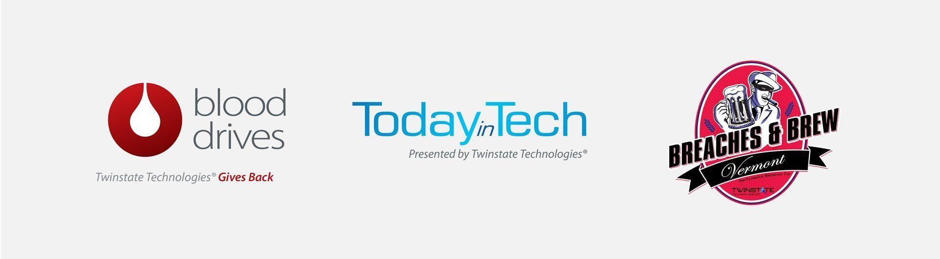 Twinstate Technologies Branding Logos de Eventos