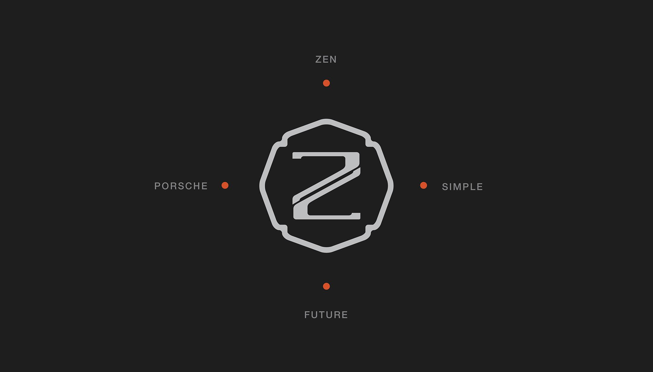 zengrafica logo design concept design