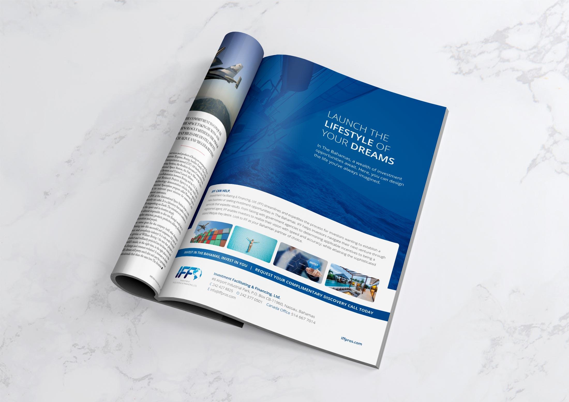 diseño publicidad revista