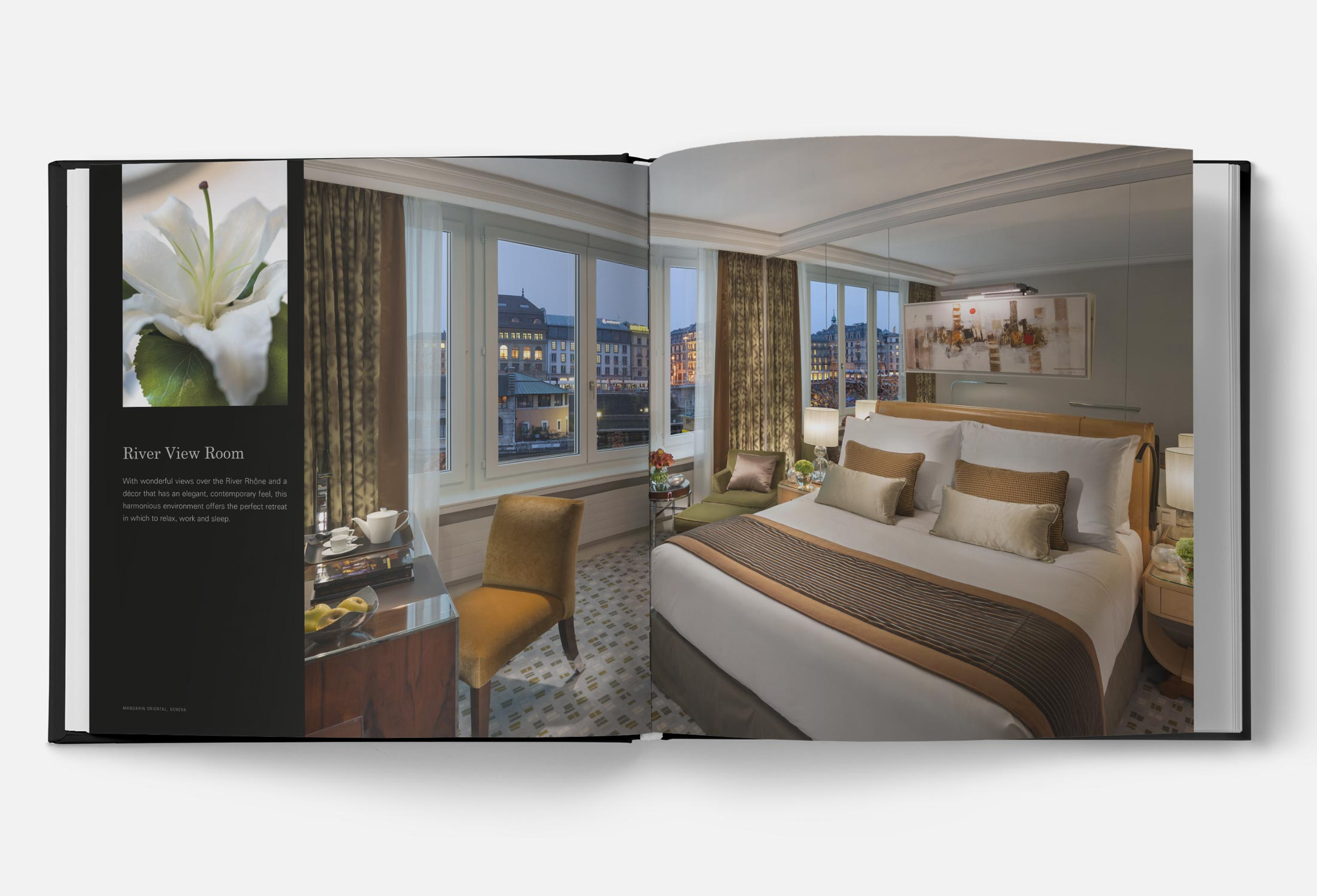 Libro Mandarin Oriental Ginebra Suite