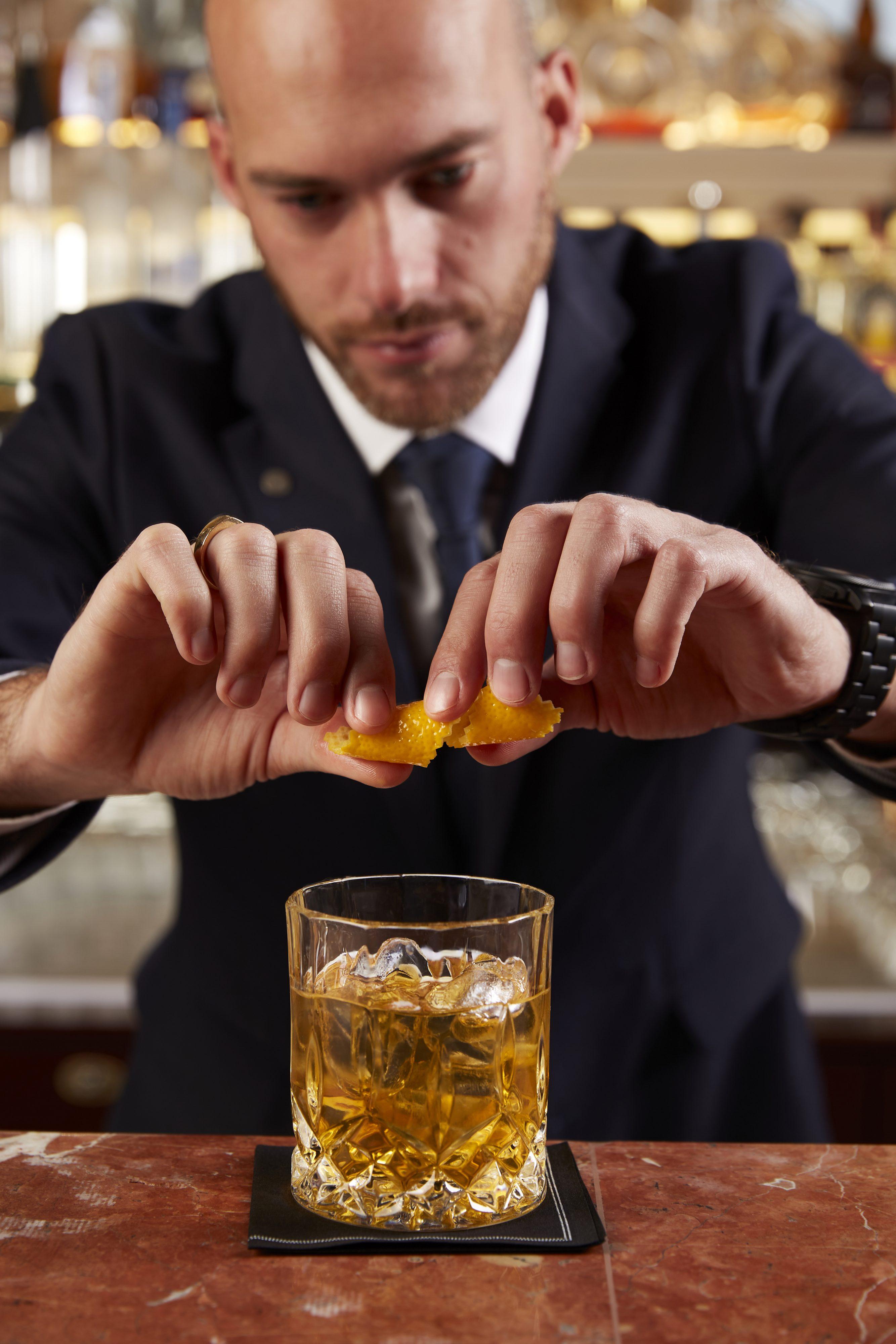 Albertine's bar bartender