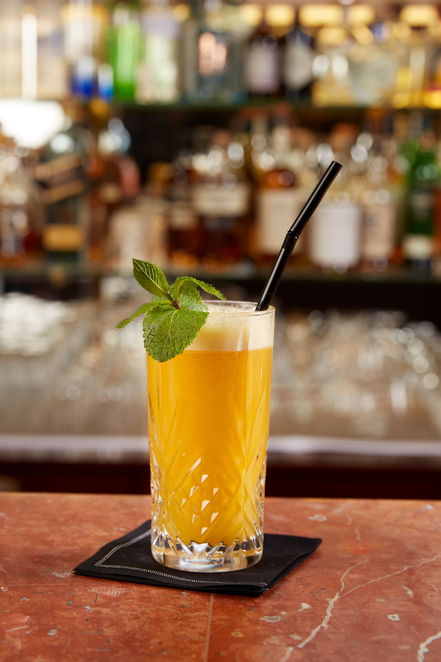 Albertine's bar cocktails