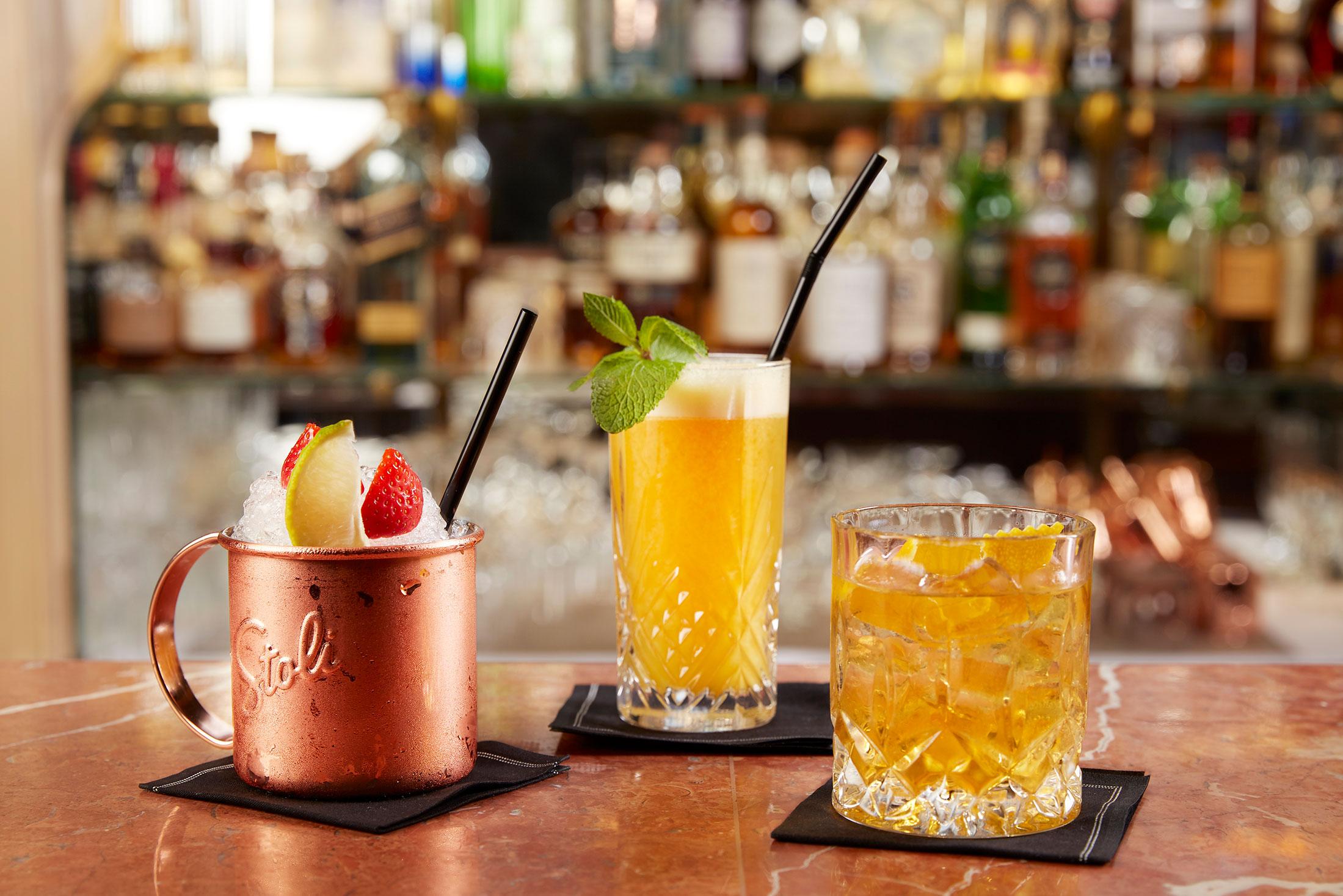 Le Bar Hotel Geneva Cocktails