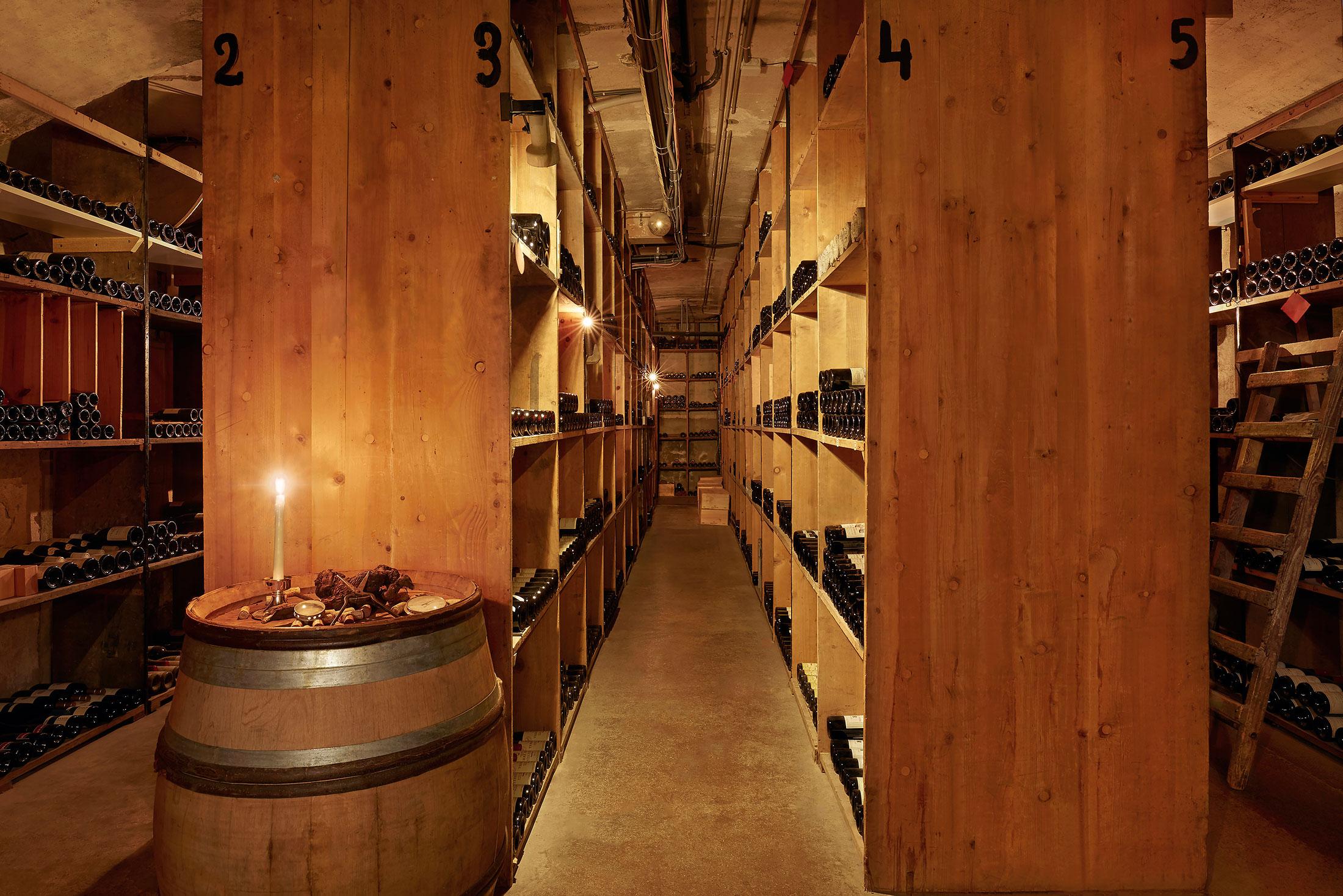 Wine Cellar Beau-Rivage Genève