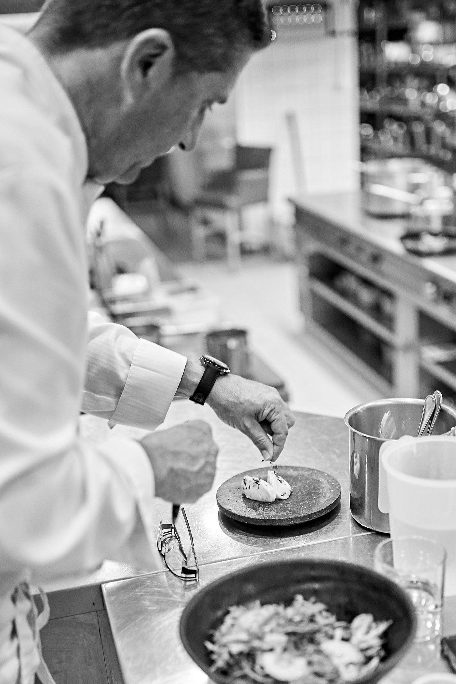 Inside chef Dominique Gauthier's kitchen