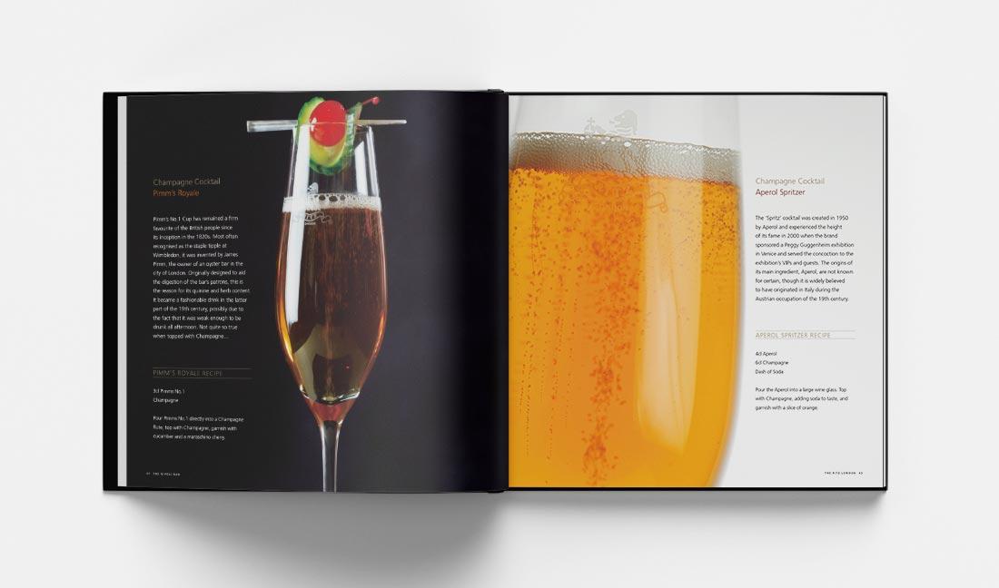 Cocktail Book The Rivoli Bar London Pimms Royale