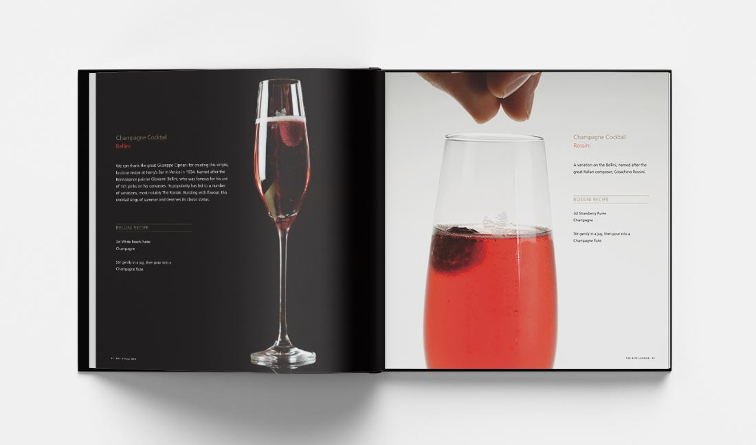 ritz london champagne cocktails bellini