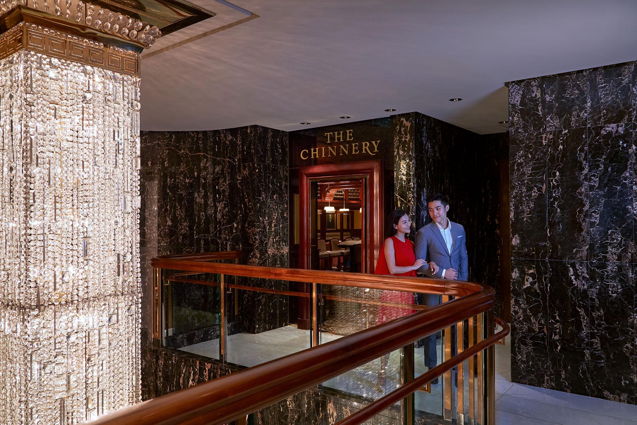 The Chinnery coulple Mandarin Oriental Hong Kong