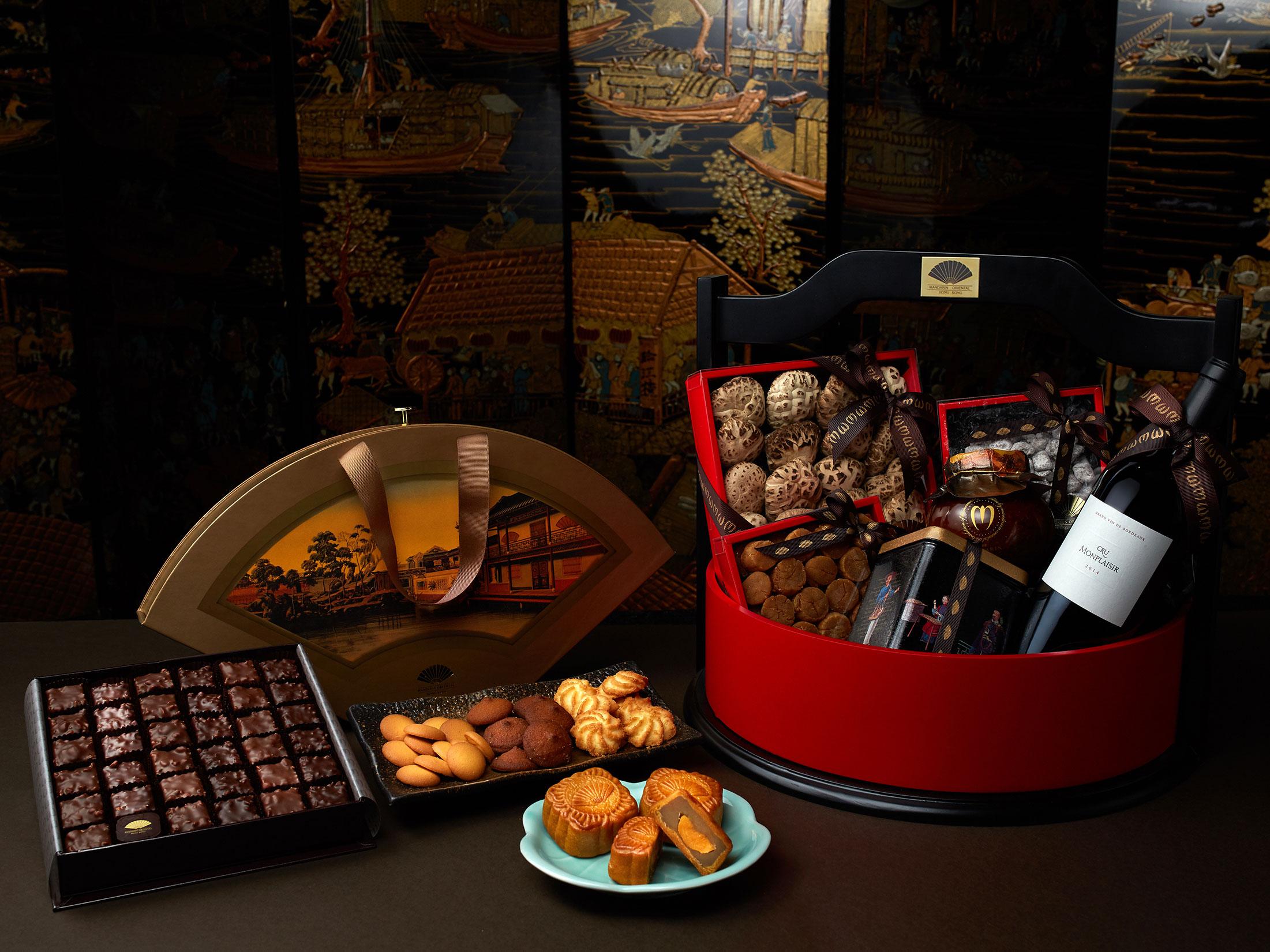 mooncake gift box product photography