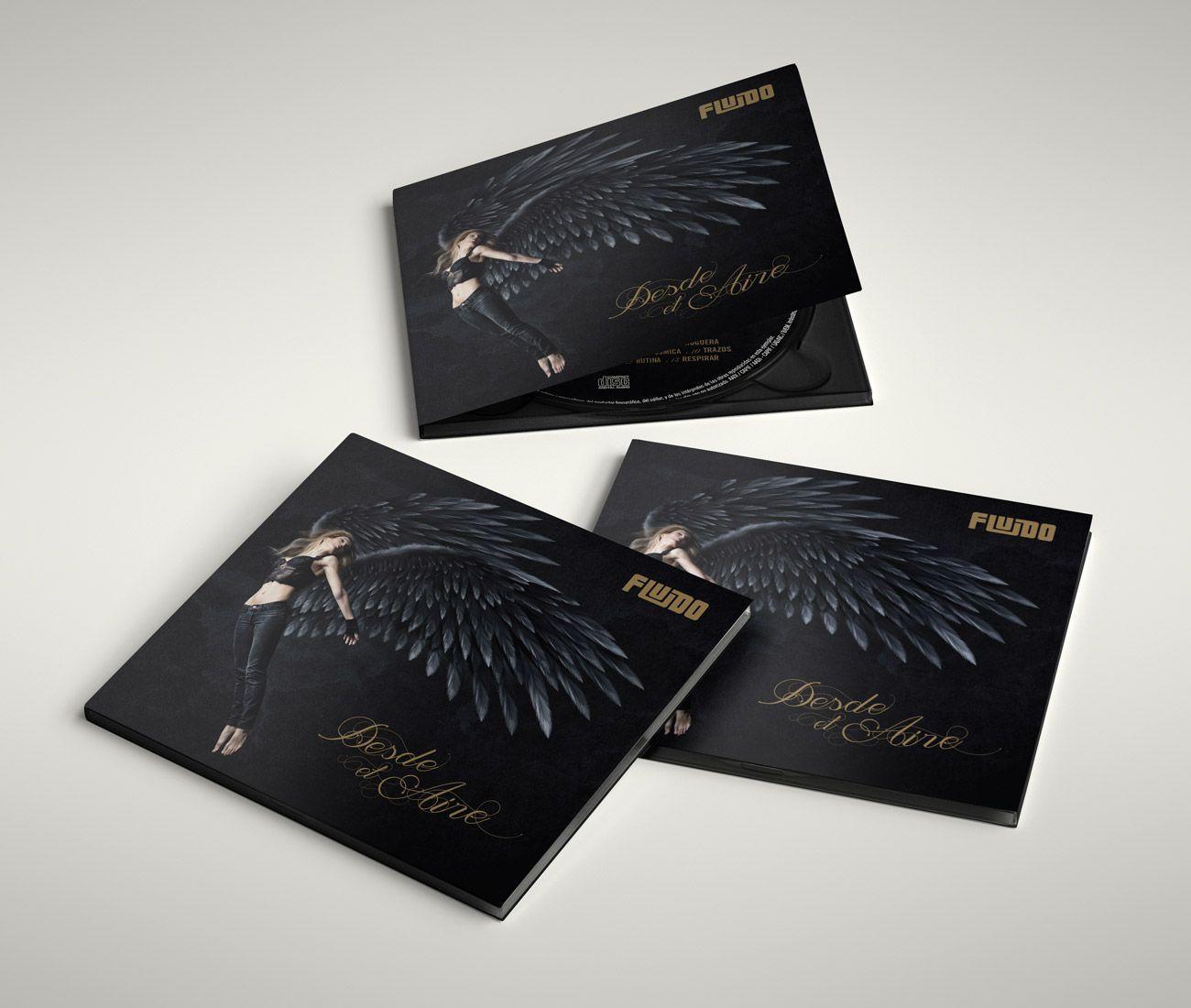 Fluido Desde el Aire Digipack Diseño Portada CD